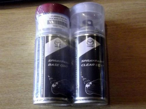 Paint spray kit, genuine Mazda, SU, Classic Red